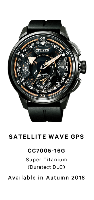 SATELLITE WAVE GPSCC7005-16G Super Titanium (Duratect DLC) Available in Autumn 2018