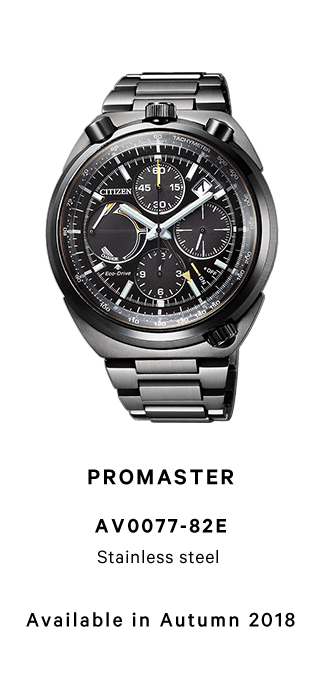 PROMASTER AV0077-82E Stainless steel Available in Autumn 2018